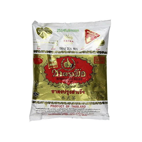 400 g. Red Tea Hot Or Cold Extra Gold Thai Tea Number One Brand Gold Label