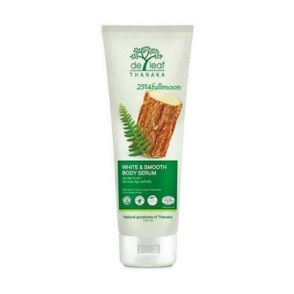 180 ml. De Leaf Thanaka White & Smooth Body Serum