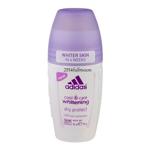 40 ml.ADIDAS Women Roll On Cool & Care Whitening Dry Protect 48H Protection
