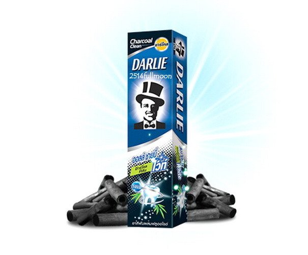 140 g. Darlie All Shiny Fluoride Whitening Toothpaste Charcoal Clean