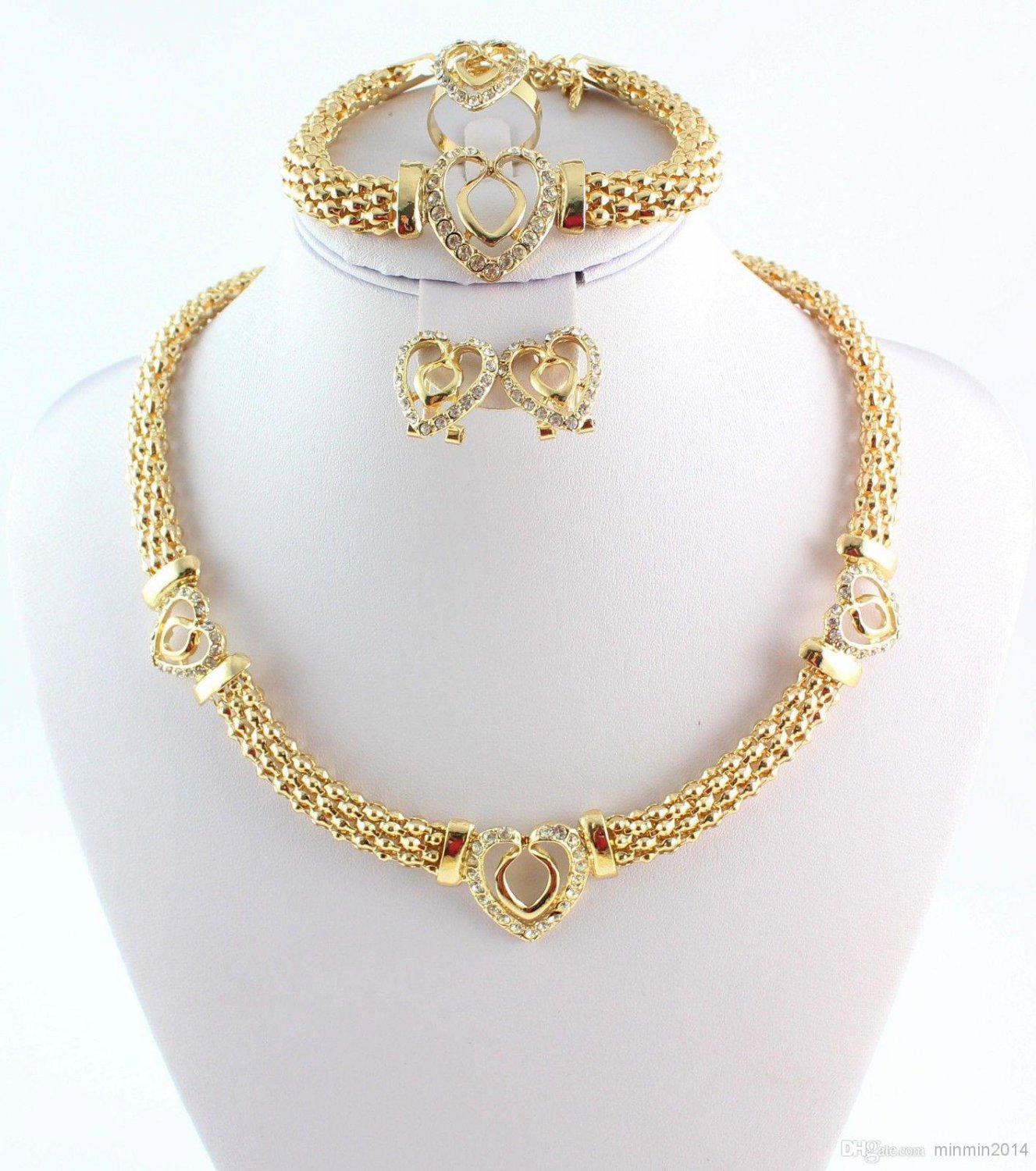 4 piece jewelry set
