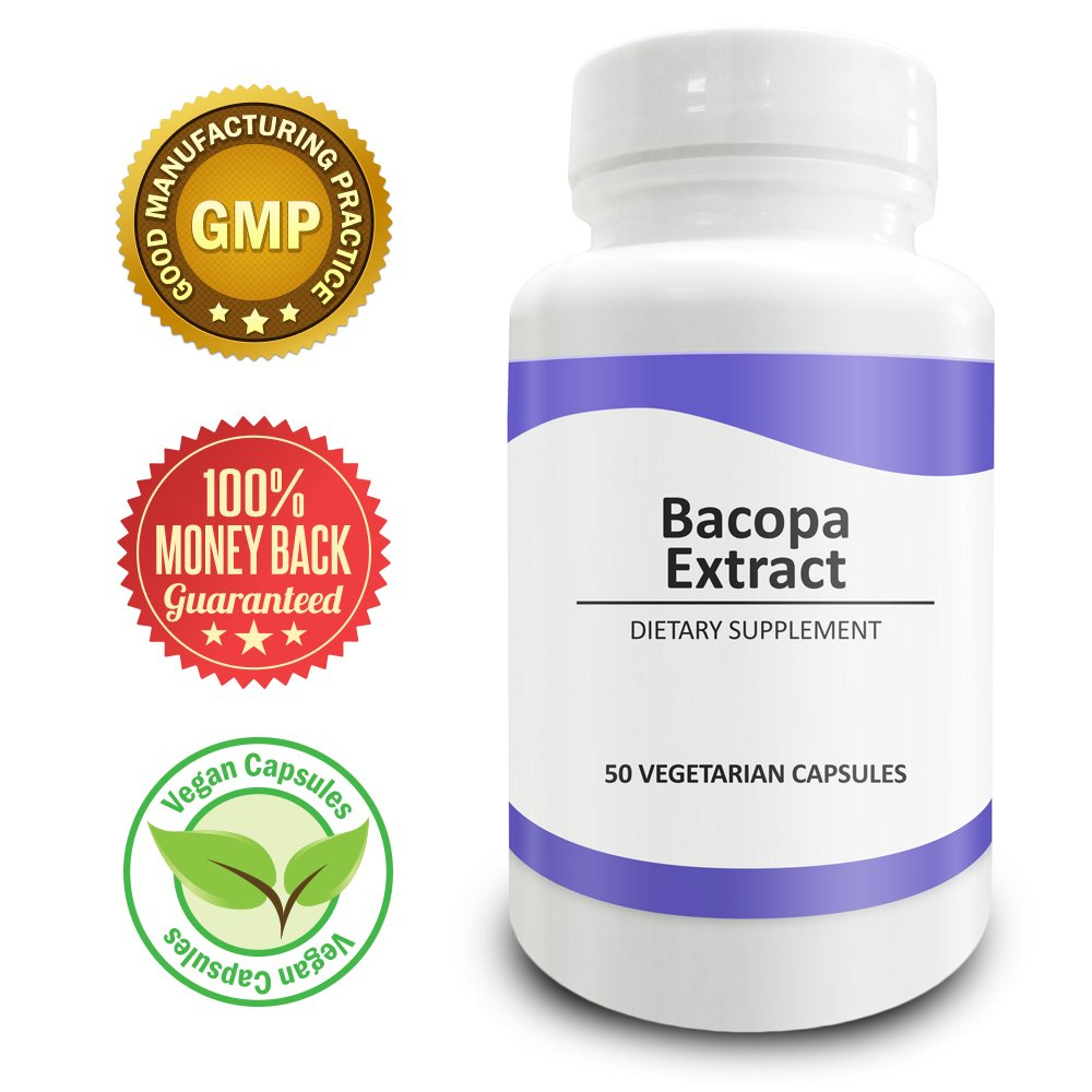 Pure Science Bacopa Monnieri Extract 600mg � Improves Memory & Attention