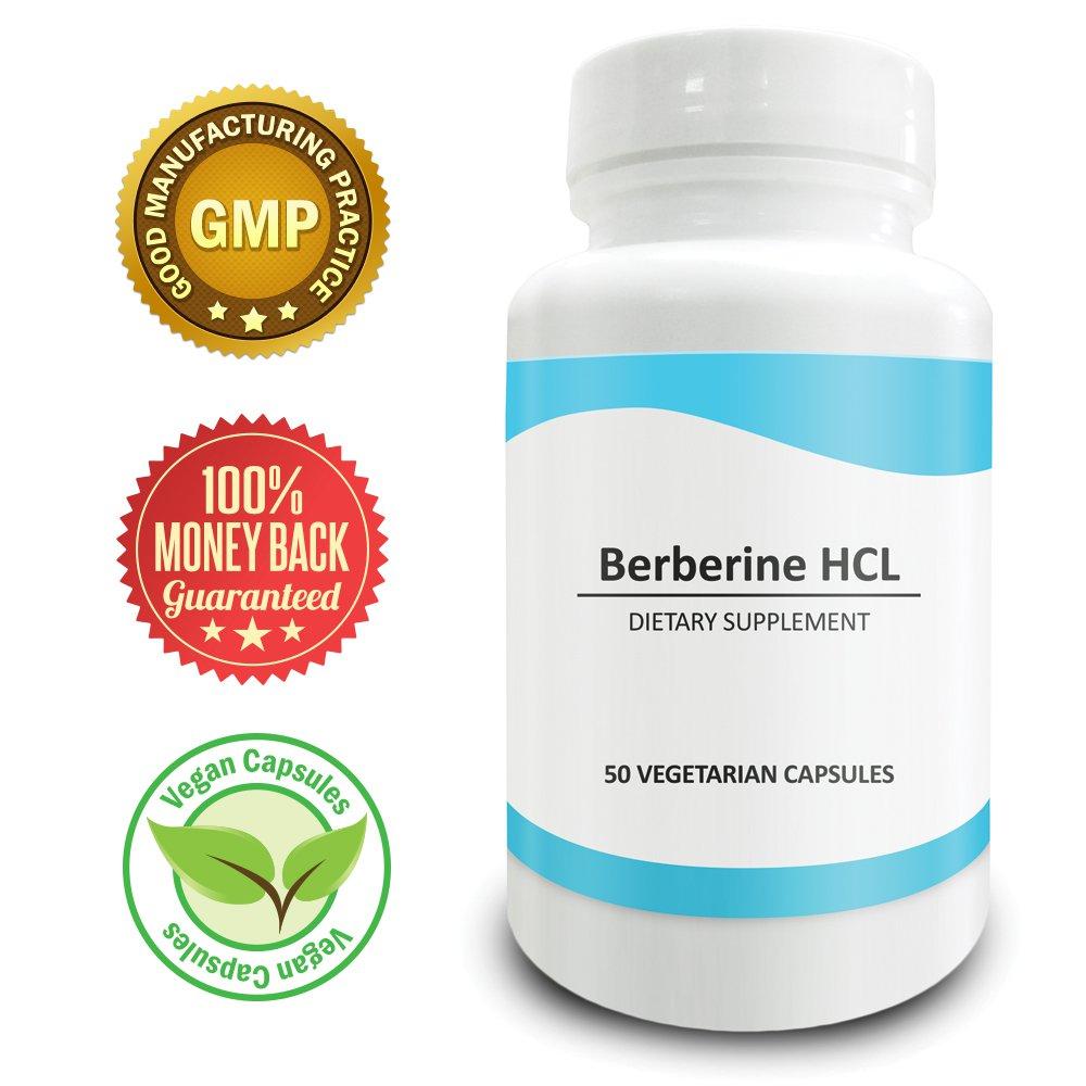 Pure Science Berberine 500mg � Regulates Cholesterol Levels & Boost Immunity