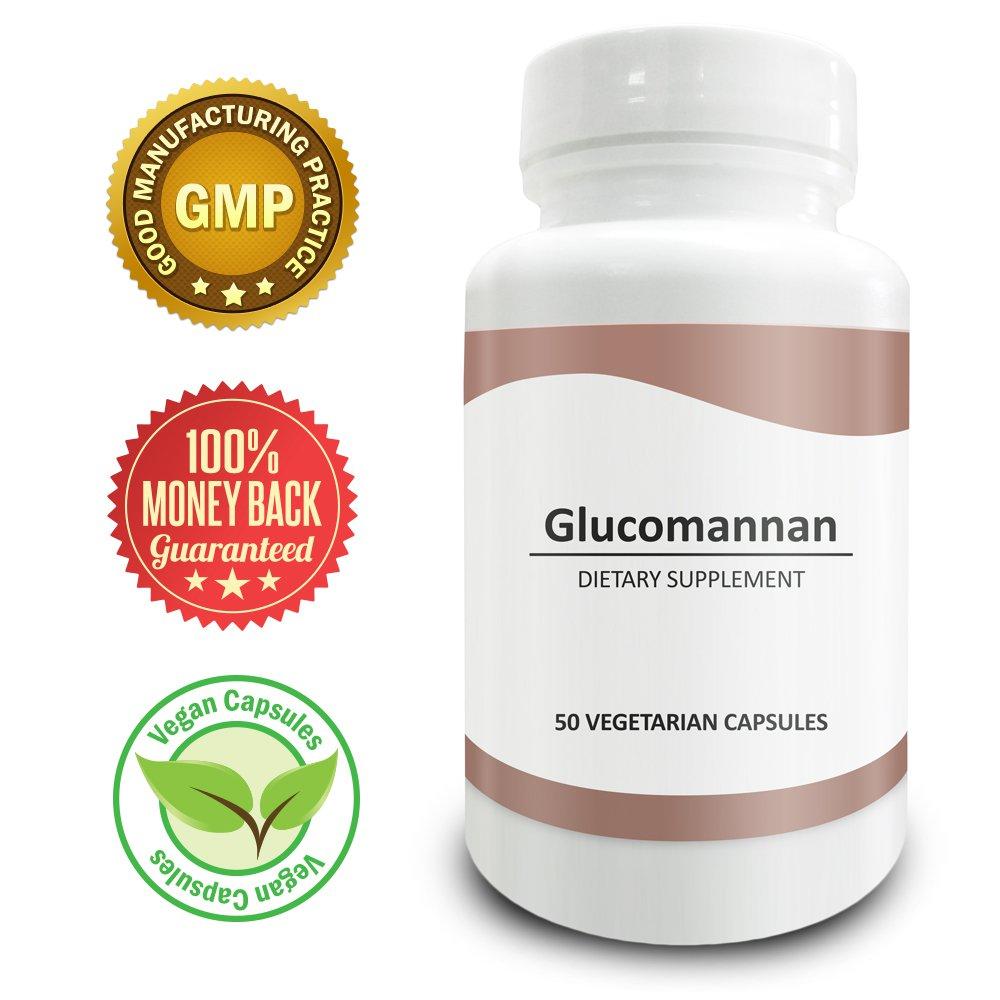 Pure Science Konjac Glucomannan 700mg - Regulates Appetite & Blood Sugar