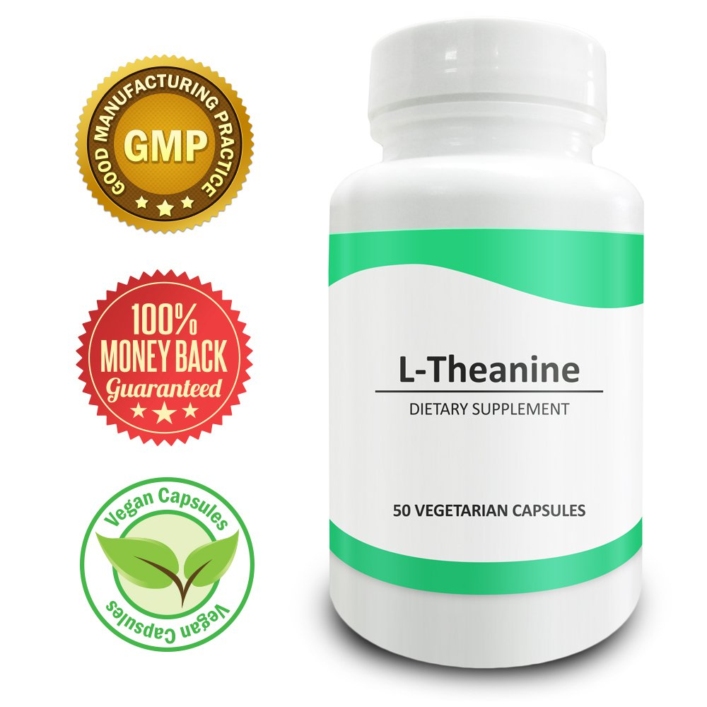 Pure Science L-Theanine 400mg � Improves Mental Performance and Mood