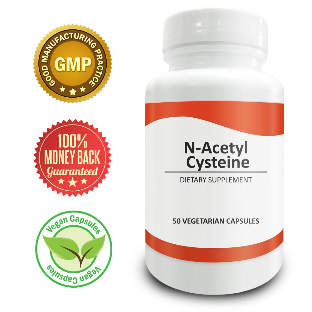 Pure Science N-Acetyl Cysteine (NAC) 700mg � Natural Immunity & Detox Support