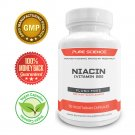 Pure Science Vitamin B3 Niacin 500mg (Flush Free) – Regulates Cholesterol Level