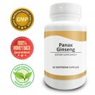 Pure Science Red Panax Ginseng 600mg - Increase Vitality & Libido