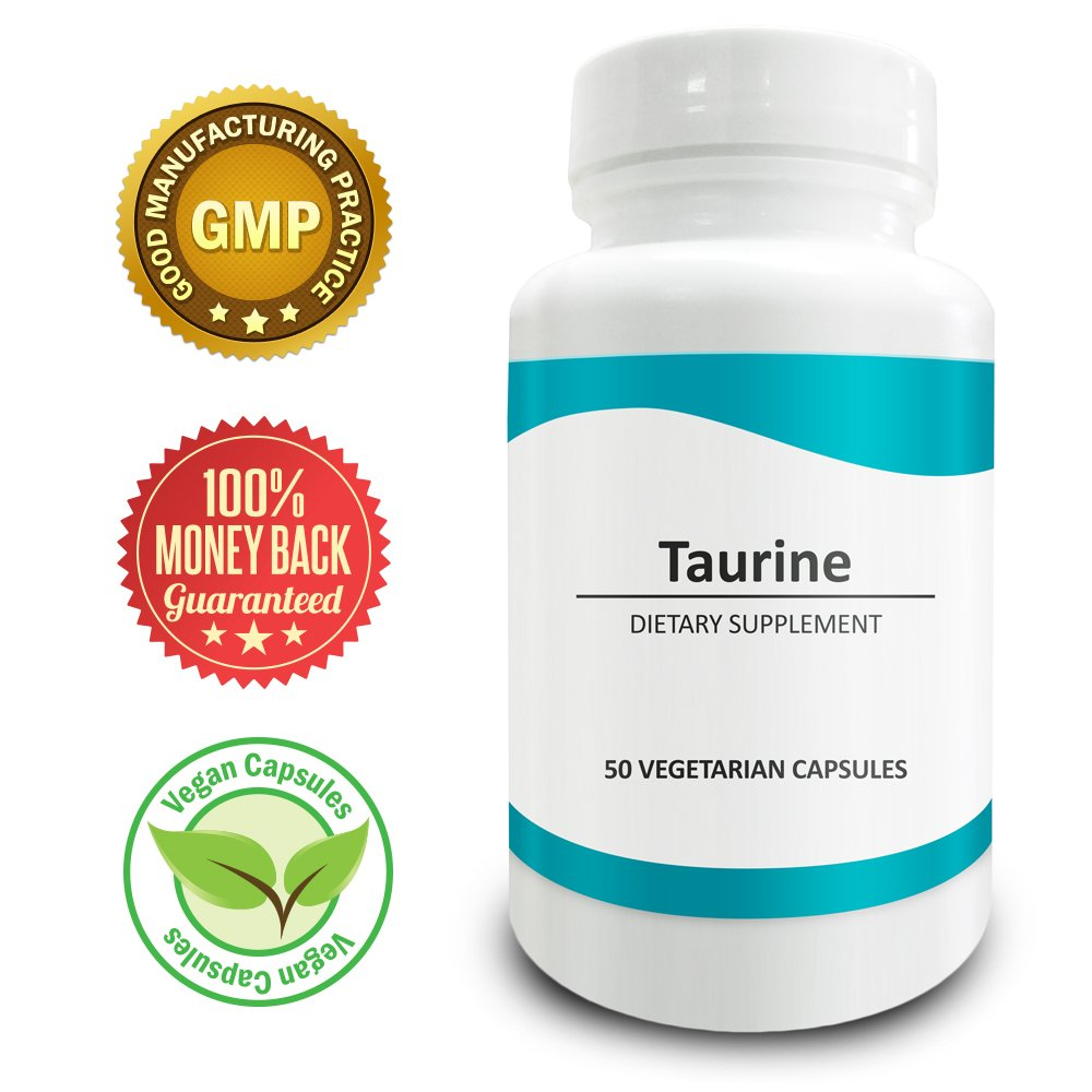 Pure Science Taurine 1000mg � Improves Cardiovascular Health & Mood