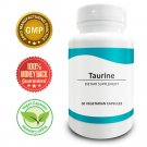 Pure Science Taurine 1000mg – Improves Cardiovascular Health & Mood