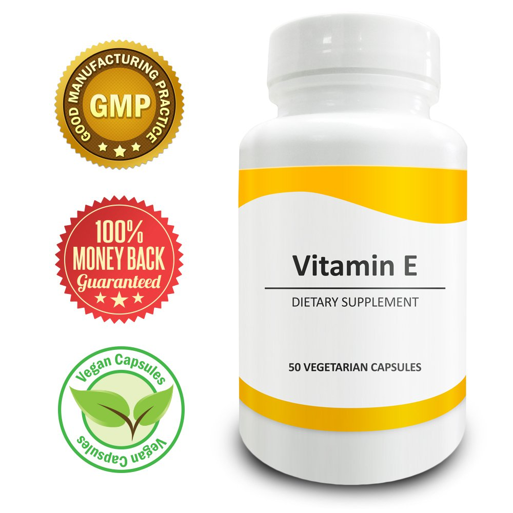 Pure Science Vitamin E 400 IU � Lowers Cholesterol Level & Promotes Healthy Skin