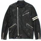 Rhythm Black Leather Jacket