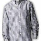 Rhythm White and blue long sleeve shirt