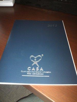 CASA Monthly 2012 Calendar
