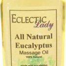 Eucalyptus All Natural Massage Oil