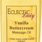 Vanilla Buttercream Massage Oil
