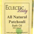 Patchouli All Natural Bath Oil