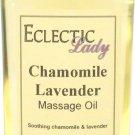 Chamomile Lavender Massage Oil