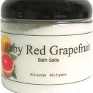 Ruby Red Grapefruit Bath Salts