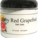Ruby Red Grapefruit Bath Salts