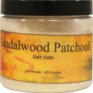 Sandalwood Patchouli Bath Salts
