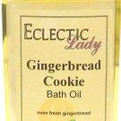 Gingerbread Cookie Bath Oil