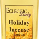 Holiday Incense Bath Oil