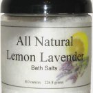 All Natural Lemon Lavender Bath Salts
