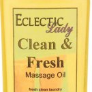 Clean and Fresh Massage Oil