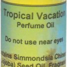 Tropical Vacation Perfume Oil, Roll On Perfume Oil