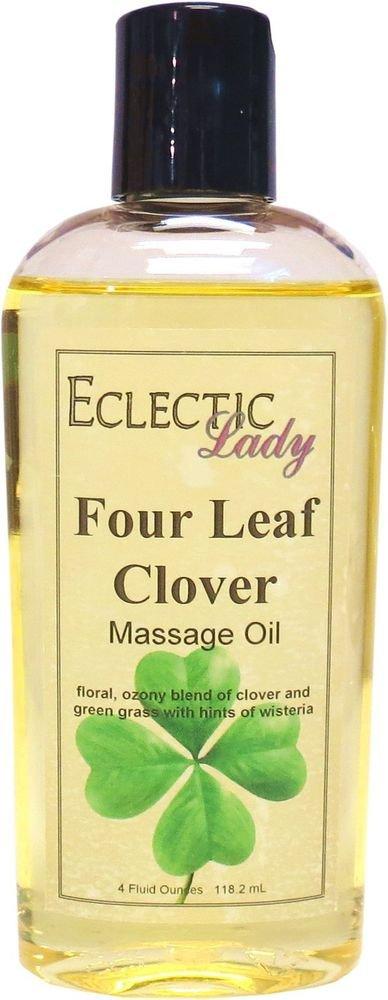 Four Leaf Clover Massage Oil