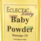 Baby Powder Massage Oil