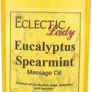Eucalyptus Spearmint Massage Oil