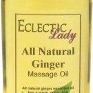 Ginger All Natural Massage Oil