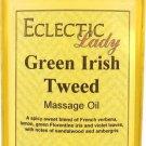 Green Irish Tweed Massage Oil