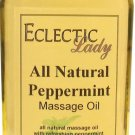 Peppermint All Natural Massage Oil
