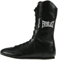 Everlast Leather Boxing Shoes
