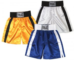 Boxing trunks (top of knee)