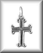 Baby/Children's Jewelry Cross Sterling Necklace/ Free Shipping