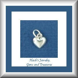 Children's Jewelry Tiny Heart Sterling Necklace/Girls/ Free Shipping