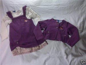 Designer Girls Clothing Dora The Explorer 18M 3Pc Dress/Free Shipping