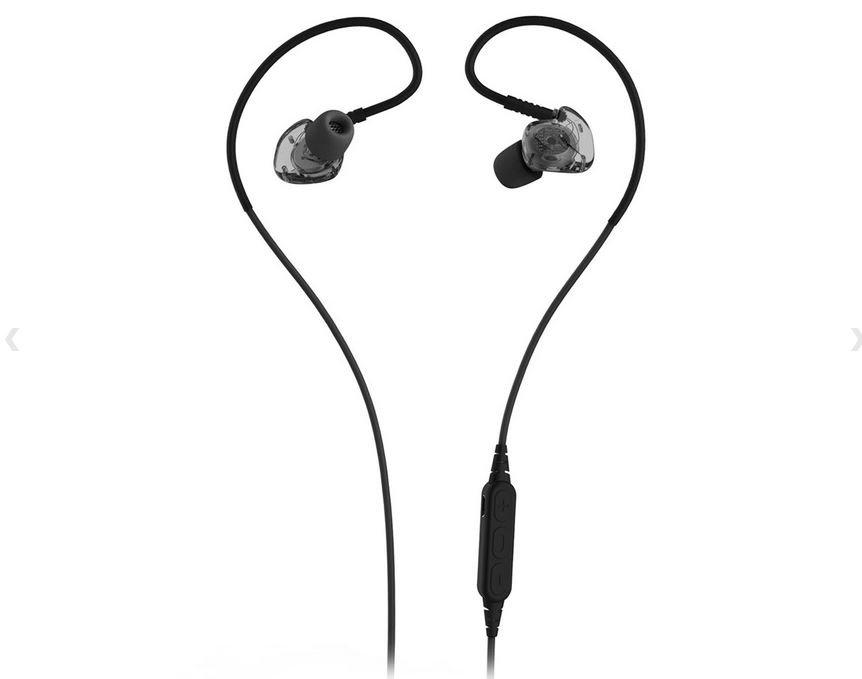 PLEXTONE BX240 Sport Bluetooth Subwoofer Stereo In-Ear Wireless Headset - Black