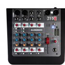 Allen & Heath ZED-6 Compact Analog Audio Mixer 6-channel