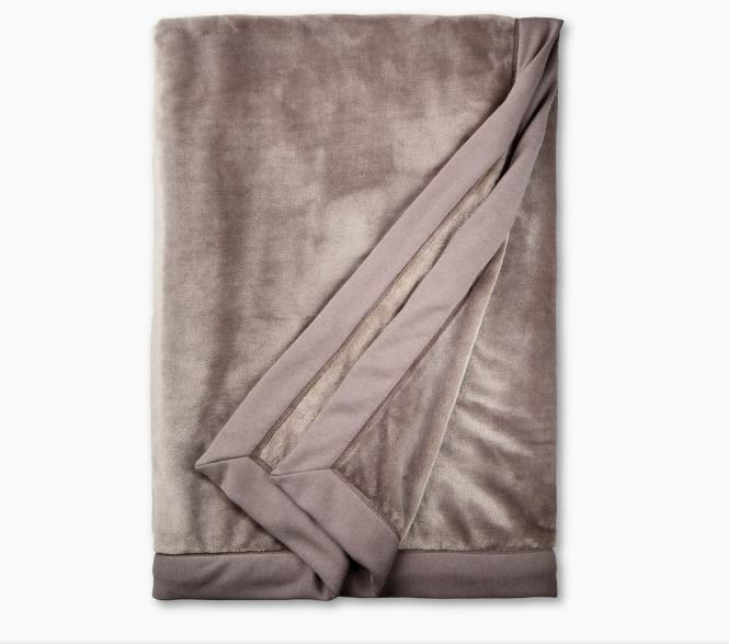 Ugg Duffield Throw Soft Blanket - Stormy Grey