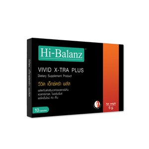 Hi-Balanz Vivid X-TRA Plus L-Carnitine(10cap)