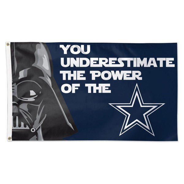 Dallas Cowboys Dark Side flag