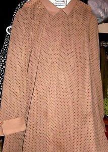 LORAE ORIGINAL LONG DRESS DOT PATTERN SIZE 26.50