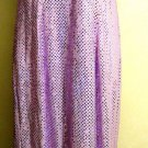 ALL THAT JAZZ  EVENING DRESS METALLIC LAVENDER/PINK SIZE M