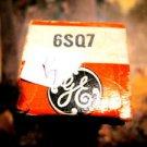 GE NOS 6SQ7 TUBE