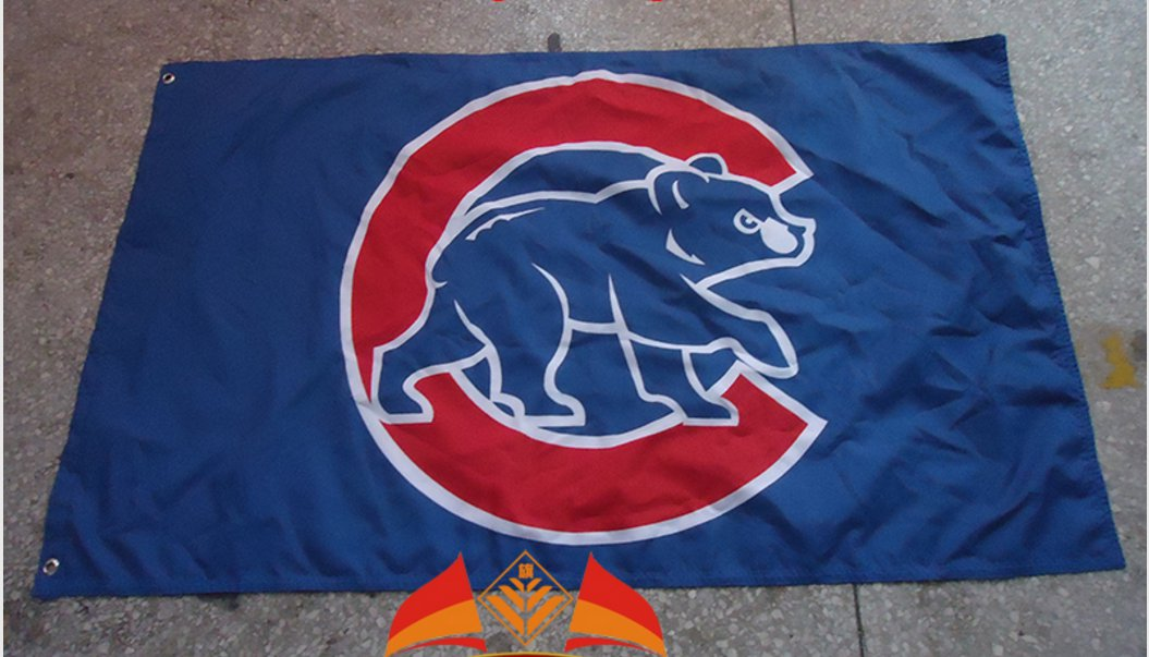 Chicago Cubs Flag 3ft x 5ft Polyester MLB Chicago Cubs Banner Flying flag